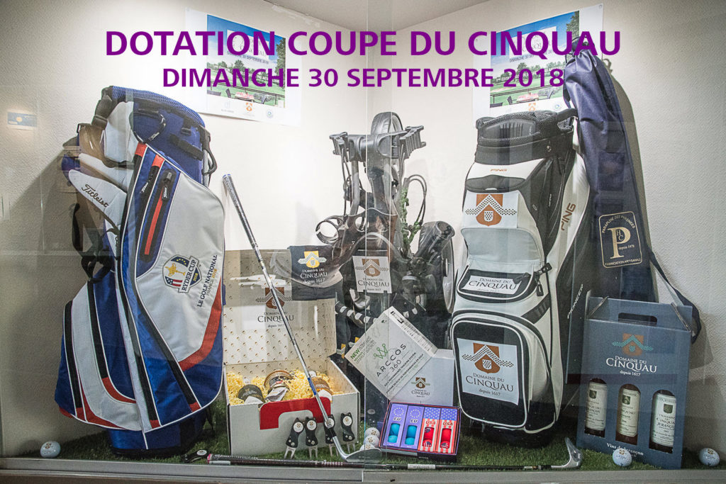 Dotation Coupe du Cinquau