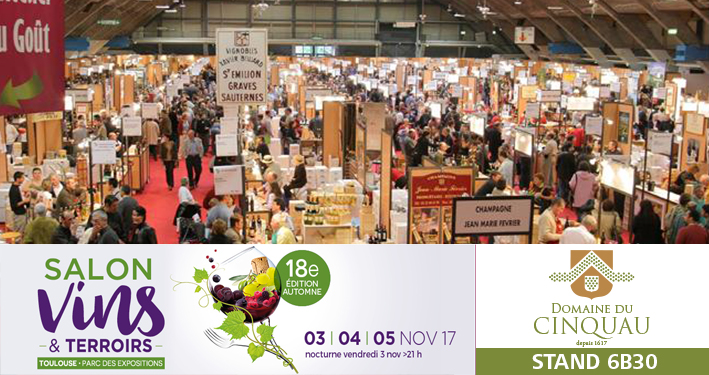 Toulouse salon vins et terroirs 03 05 novembre 2017 for Toulouse salon